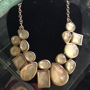 Big chunky gold necklace
